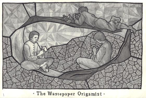 wastepaper origamist