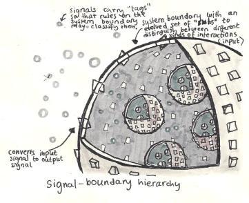 Signal boundary